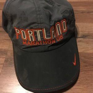 08 Portland marathon Nike cap